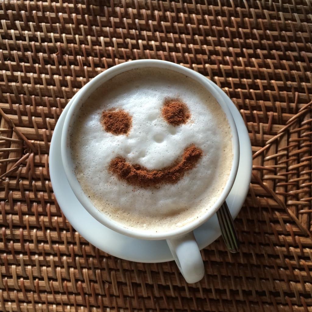 Happiness and Joy happy coffee blog post